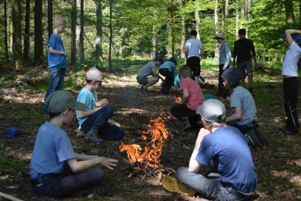 Den Umgang mit Feuer lernen