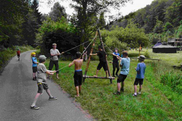 Teamwork-Herausforderung