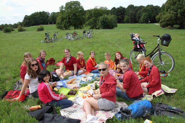 Picknick im Grünen